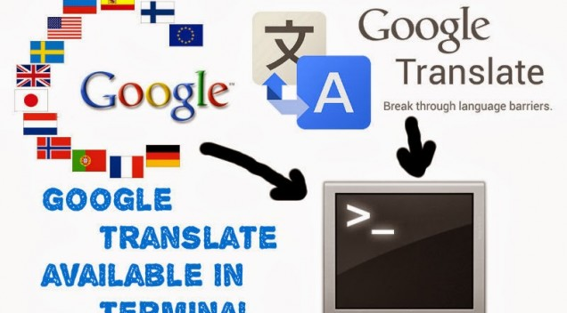 Google Translate for terminal in Linux