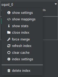Delete Index Squid