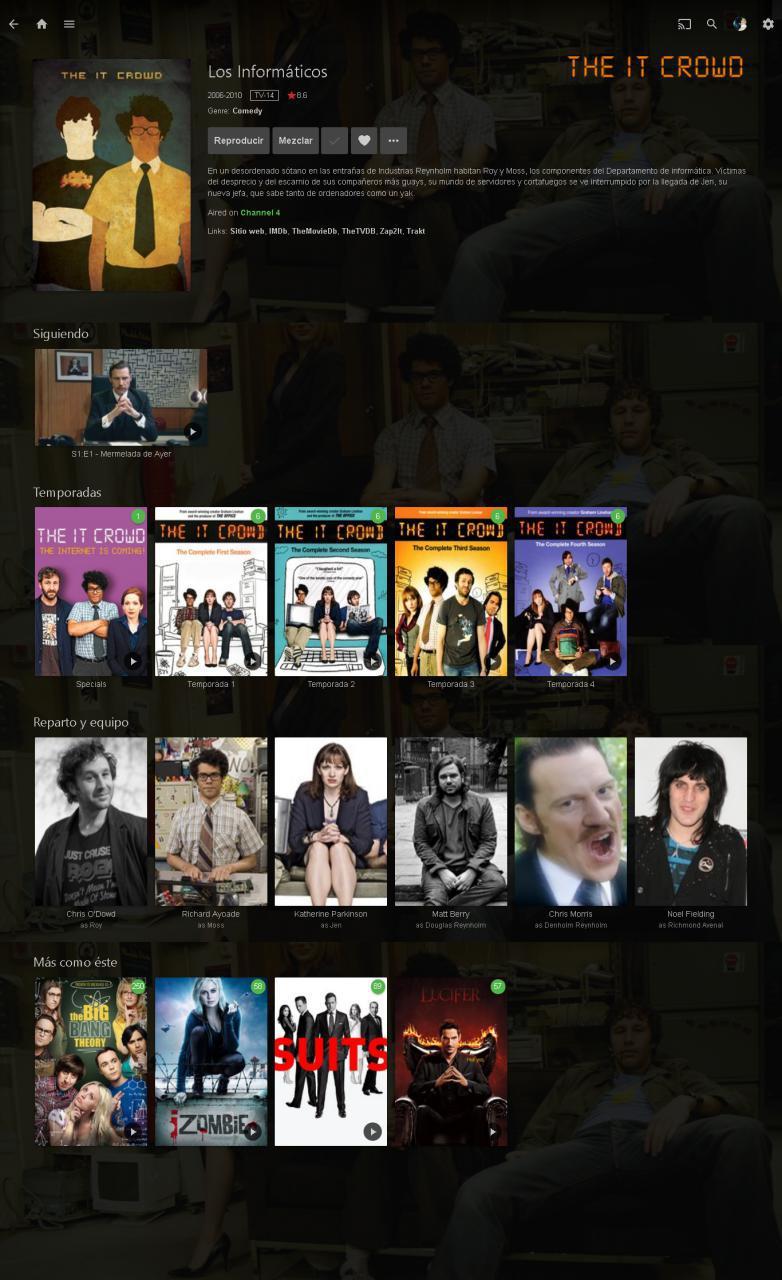 Emby una manera diferente de ver películas y series