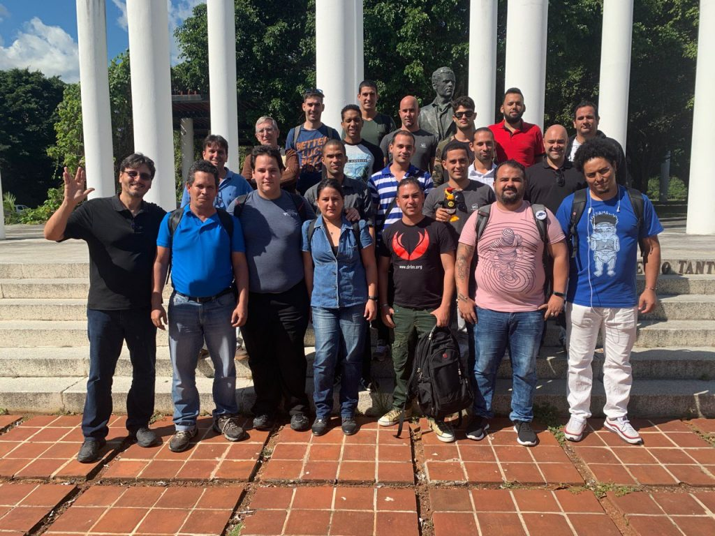 Todos los participantes en el taller de certificación obtuvieron su aval en el nivel Linux Essentials