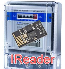 Lector de metrocontador usando IR y esp01